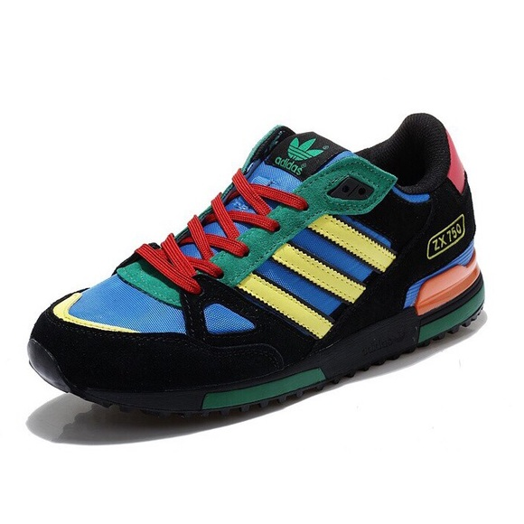 low priced 9ac14 76bfe adidas Other - Adidas ZX 750 Multi Colored Shoe